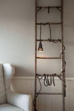 Escaleras de madera, low cost y decorativas