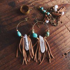 12 Pairs Drop Dangle Earrings hippie ethnic boho Fashion Jewelry funky cheap Vintage Statement Boho Bohemian Earrings Set for Women Gift – Fine Jewelry & Collectibles Leather Earrings, Leather Jewelry, Beaded Earrings, Wire Jewelry, Jewelry Crafts, Beaded Jewelry, Jewelery, Handmade Jewelry, Diy Boho Earrings