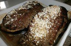 Régime Dukan (recette minceur) : Aubergine farcie #dukan http://www.dukanaute.com/recette-aubergine-farcie-5516.html