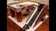 DIY Garage for Hot Wheels or Matchbox sized cars - 11 Dec 2015