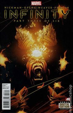 Infinity (2013 Marvel) 3A Marvel Comics Cover Incredible savage