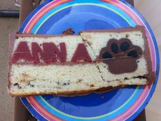 Anna's surprise inside cake