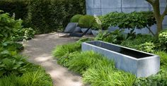 Afbeeldingsresultaat voor strikt design trädgård