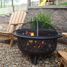 Uniflame Corporation Steel Wood Fire Pit