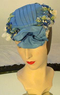 Jan Leslie custom hat 1950s