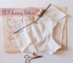 Lingerie Panties Sewing Pattern Ohhh Lulu 1302 by OhhhLuluSews, $9.00