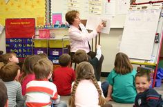 Read aloud: teacher models reading strategies. Uses metacognition. Can stop to ask questions and think aloud.