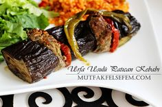 MUTFAK FELSEFEM: Urfa Patlican Kebabi Tarifi Junk Food, Beef, Middle, Meat, Ox, Ground Beef, Steak