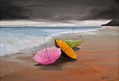 Maison d'enchères en ligne Catawiki: Christophe Gastaldi -Les parapluies