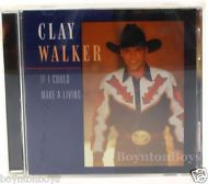 If I Could Make a Living by Clay Walker (CD, Sep-1994, Giant (USA))