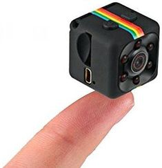 Spy Camera, Hidden Camera, Nanny Cam, Mini Camera, Secret Camera, spy cams, best Digital Small HD Super Portable with Night Vision and Motion Detection, Security Cameras for Home, Car, Drone, Office