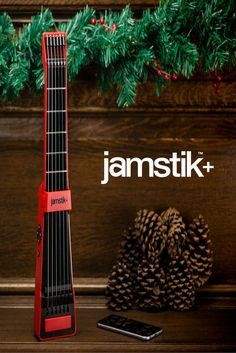 The smart guitar that works wirelessly with your devices and our apps to finally teach you how to PLAY GUITAR!
