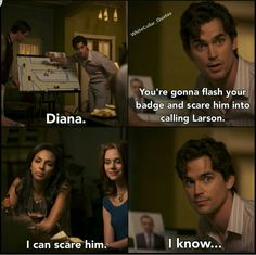 You can scare him  Whitecollar_quotes