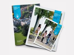 Annual Report Design - St Mary's University College undergraduate prospectus, mini guide, annual report — Mytton Williams