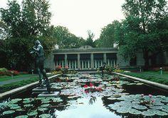 The Reception Location - Spink Pavilion Missouri Botanical Garden