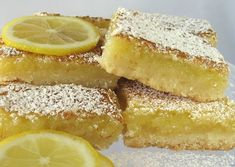 If you love lemon the way our family does you will love these lemon squares! Just the slightest hint of coconut in the bottom layers gives it just the right touch. Lemony delicious layer completes the top!  Hmmmmm! So delicious you wont be able to stop at just one!