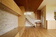 Home Design and Interior Design Gallery of Modern Japanese Architecture Stairs With Wood