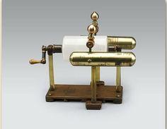 Cylinder-elektriseermachine voor elektrotherapie, naar Nairne, 1782-1790