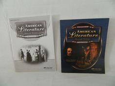 ABeka American Literature w. Tests, LN, Homeschool / School #TextbookBundleKit