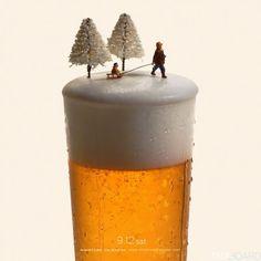scene miniature Tatsuya Tanaka biere