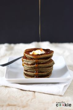 Hemp Protein Pancakes (Gluten-free & Vegan) - #ad @thefitcookie @almondbreeze #glutenfree #vegan
