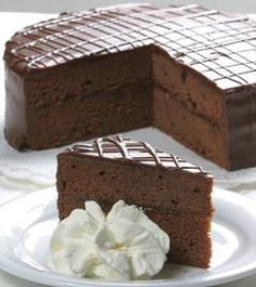 Sacher cake from the pastry chef - Kuchen - Dessert Pastry Recipes, Cake Recipes, Dessert Recipes, Dinner Recipes, Chicken Parmesan Recipes, Chicken Soup Recipes, Dessert Halloween, Happy Halloween, Halloween Decorations