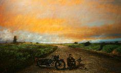 wanderer Wander, Painting, Scenery, Paintings, Art, Painting Art, Painted Canvas