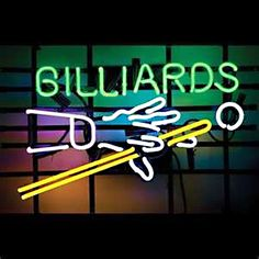 Billiards pool Neon Sign