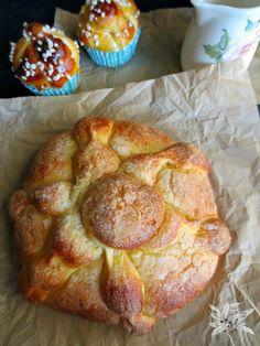 Pan de muerto, especialidad mejicana para celebrar el día de todos los Santos.