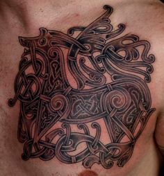 viking history | Viking art tattoo Ringerike by ~DarkSunTattoo on deviantART