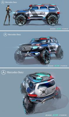 MERCEDES-BENZ ENER-G FORCE CONCEPT CAR