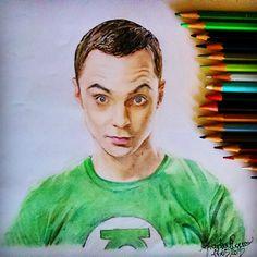 •...Ad esempio io piango perché gli altri sono stupidi e questo mi rende triste!• Sheldon 😂❤ #disegno #drawing #art #BBT  #bigbangtheory  #sheldoncooper #jimparsons #texas #matite #actor #scientist #mito #theoreticalphysicist #prismalo #pencil #ritratto #portrait #genius #genio ❤