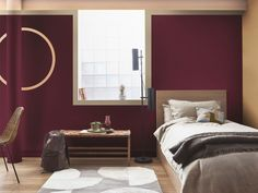 Want to create a soothing and sophisticated look in your home? Here's how to achieve it with Spiced Honey - Dulux Colour of the Year 2019 Warm Bedroom Colors, Living Room Color Schemes, Furniture Design, Home, Navy Living Rooms, Dulux Colour, Bedroom Paint Colors, Calming Bedroom Colors, Bedroom Colors
