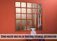 enrHedando: Ventanas falsas para decorar cualquier pared interior