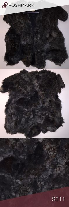 Game of Thrones Black/Gray RabbitFur Vest Lg Game of Thrones Black/Gray RabbitFur Vest Lg. Wow. We're not Experts nor Jewelers. All Items are Pre-loved, Pre-Worn, Vintage, Antique, or new. We examined & researched Ea item, We are not experts in any item we sell (Jewelry, Art, Designers, etc.), we may not catch every defect or deficiency, markings, title, or condition. Info is based on research, previous owner, and markings. Vintage Jackets & Coats Vests