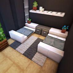 Modern Minecraft Houses, Minecraft House Plans, Minecraft Cottage, Minecraft House Tutorials, Minecraft Room, Minecraft House Designs, Minecraft Architecture, Minecraft Blueprints, Minecraft Creations