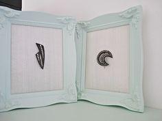 DIY Framed Bakelite Brooch