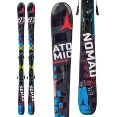 Atomic Nomad Smoke TI ARC + XTO12 Competitive Edge Ski & Bike