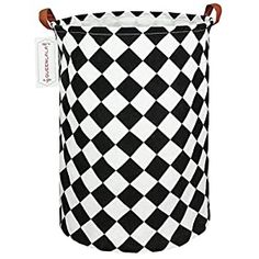 """Perfect for your Baby and Nursery QUEENLALA Large Storage Basket,Laundry Hamper/Bathroom/Home Decor/Collapsible Round Storage Bin,Boys and girls Hamper/Boxes/Clothing (Square),QUEENLALA Large Storage Basket,Laundry Hamper/Bathroom/Home Decor/Collapsible Round Storage Bin,Boys and girls Hamper/Boxes/Clothing (Square), Size:19.7""""(height) x 15.7""""(diameter)inches. Material: Cotton linen outside+..."""