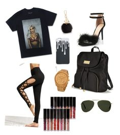 """""""Untitled #9"""" by ollalorenza on Polyvore featuring Victoria's Secret, Furla, Oliver Goldsmith and Armani Exchange"""