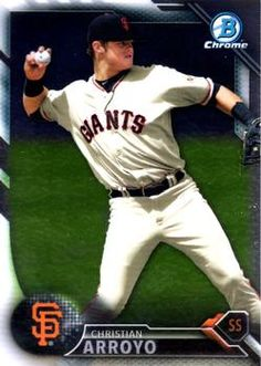 2016 Bowman - Chrome Prospects #BCP134 Christian Arroyo Front
