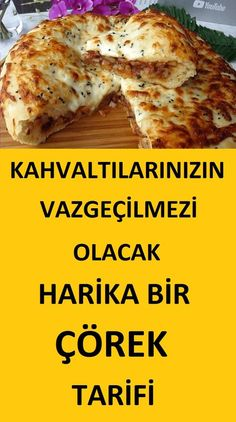 pizza – Kahvaltılık Harika Bir Çörek Tarifi – Kahvaltılıklar – Las recetas más prácticas y fáciles Delicious Cake Recipes, Yummy Cakes, Donut Recipes, Great Recipes, Turkish Recipes, Ethnic Recipes, Turkish Breakfast, Cocktail Recipes, Donuts
