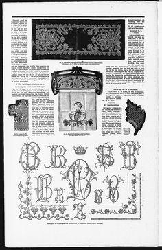 Wooden Art Nouveau towel rack (vist site for bigger picture)  Gracieuse. Geïllustreerde Aglaja, 1902, aflevering 5, pagina 40/3