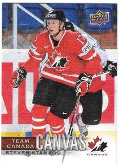 Steven Stamkos Canvas Team Canada Canadian Tire Upper Deck TCC-23 2017-18  #TeamCanada