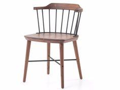 Walnut chair EXCHANGE CHAIR by STELLAR WORKS design Jun Aizaki, CRÈME