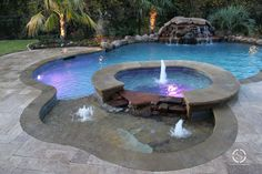 Natural / Freeform Pool #058 by Southernwind Pools