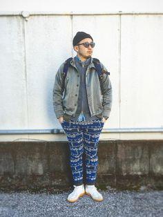 tortoise   yoheiさんのミリタリージャケット「15jyugo 」を使ったコーディネート