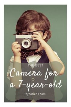 Thinking about teaching your child how to take photos? What is the best camera for them to be using at such a young age? We have an answer here! Bible Words, Holidays With Kids, 7 Year Olds, Camera Photography, Best Camera, Taking Pictures, How To Take Photos, Cool Kids, Activities For Kids