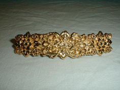 vintage mfa gold plated florentine by qualityvintagejewels on Etsy