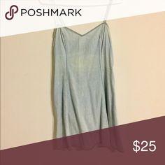 Urbanoutfitters simple denim dress Used condition cute mini dress Urban Outfitters Dresses Mini